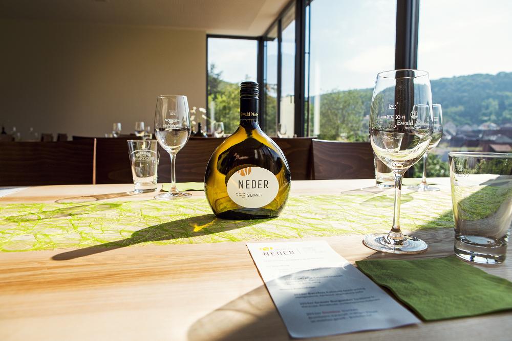 Weingut Neder: Weinproben im neuen Veranstaltungsraum