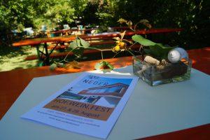Weingut Neder: 1. HOF.WEIN.FEST, August 2016